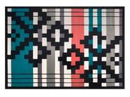 Tappeto fatto a mano rettangolare in lana a motivi geometrici INTENSE - Dare to Rug
