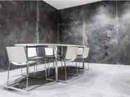 Pavimento/rivestimento in gres porcellanato effetto metallo IRON GREY | Rivestimento - FMG Fabbrica Marmi e Graniti