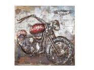 Dipinto in acciaio IRON MOTORBIKE - KARE-DESIGN