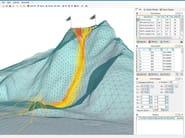 Slope stability test IS GeoMassi - CDM DOLMEN