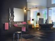 Wall-mounted bathroom mirror ISIDO SET ONE | Mirror - LINEAG