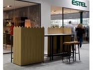 Office booth for coffee break ISOLA BUFFET & SIEPE - ESTEL GROUP