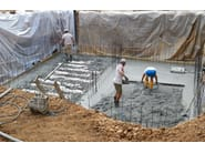 Plastic dome a for ventilated and insulated hollow floor ISOLCUPOLEX - PONTAROLO ENGINEERING