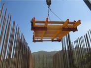 Sistema per muratura portante in cls gettato in opera Pianale rampante interno - Condor