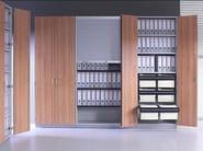 Mobile ufficio modulare con ante a battente J_SYSTEM | Mobile ufficio con ante a battente - BALMA