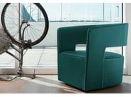 Leather armchair JADE | Leather armchair - ITALY DREAM DESIGN - Kallisté