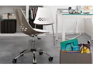 ABS task chair with 5-Spoke base JAM | Task chair - Calligaris