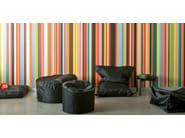 Upholstered polyester pouf JAZZ - Atipico