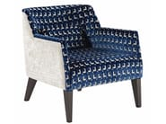Fabric armchair with armrests JAZZY - ROCHE BOBOIS