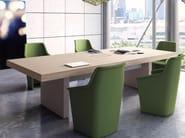 Rectangular meeting table JERA | Meeting table - Las Mobili