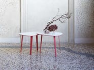 Low aluminium coffee table JIM - iCarraro italian makers