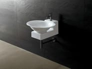 Oval ceramic washbasin JOKER POT - Alice Ceramica