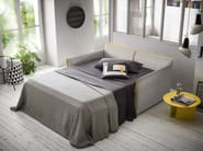 Velvet sofa bed with removable cover JOLIE - Felis
