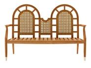 Teak garden sofa JONQUILLE | Garden sofa - ASTELLO