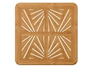 Square teak garden table JONQUILLE | Square table - ASTELLO