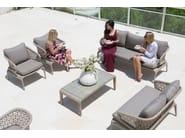 Tavolino da giardino rettangolare per contract JOURNEY 23084 - SKYLINE design