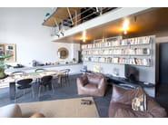 Scaffale a parete componibile K1 | Libreria - KRIPTONITE