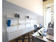 Modular aluminium office shelving K1 | Office shelving - KRIPTONITE