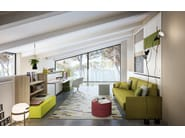 Convertible 3 seater sofa KALI PONTE SOFA | Sofa - CLEI