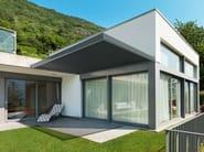 Pergolato in alluminio a lamelle orientabili KEDRY PLUS T - KE Outdoor Design