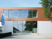 Aluminium double glazed window KELLER minimal windows® highline - KELLER