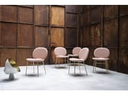 Fabric chair KELLY C BASIC - Tacchini Italia Forniture