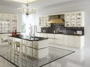 Lacquered kitchen with island KELLY - Snaidero