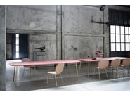 Rectangular wooden table KELLY T | Rectangular table - Tacchini Italia Forniture
