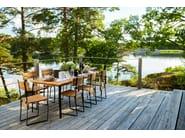 Tavolo da giardino quadrato KERTEMINDE | Tavolo quadrato - Skargaarden