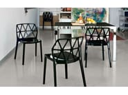 Extending rectangular dining table KEY | Rectangular table - Calligaris
