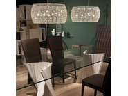 Crystal pendant lamp KIDAL - Cattelan Italia