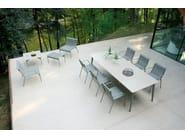 Tavolo allungabile da giardino rettangolare KIRA | Tavolo allungabile - EMU Group S.p.A.