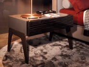 Bedside table KIRK NIGHTSTAND - Minotti