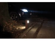 LED die cast aluminium bollard light KIT-09 STILE NEXT POST - Lombardo