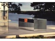 Gas outdoor kitchen KITCHEN ISLAND 5 MODULES - Röshults