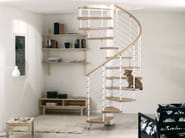 Spiral staircase in kit form KLOE' - Fontanot Spa