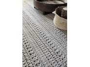 Solid-color rectangular wool rug KNOTWORK - GAN By Gandia Blasco