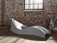 Laminated wood lounge chair / garden daybed KOII - Müller Möbelwerkstätten