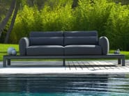 Fabric garden sofa with removable cover KOTON | Sofa - Les jardins