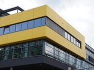 Rainscreen system for flat facade easy to install KALZIP FC - KALZIP® - Gruppo Tata Steel Europe
