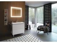 Wooden vanity unit with drawers L-CUBE C-BONDED | Vanity unit - DURAVIT