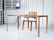 Solid wood table L | Table - HOOKL und STOOL