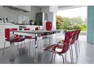 Stackable chair L'EAU | Chair - Calligaris