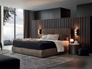 Upholstered double bed LAZE - Poliform