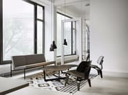 Leather chair LCM LEATHER - Vitra