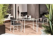 Outdoor chair LE PARC CHAIR - Minotti