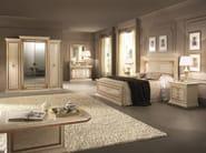Double bed with high headboard LEONARDO | Bed - Arredoclassic