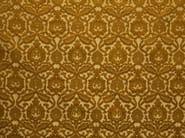 Damask jacquard silk fabric LEONARDO - LELIEVRE