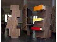 Modular wooden chest of drawers TIROUAR - MALHERBE EDITION
