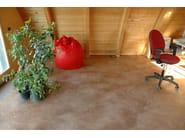 Clay continuous flooring LEVITER - Terragena